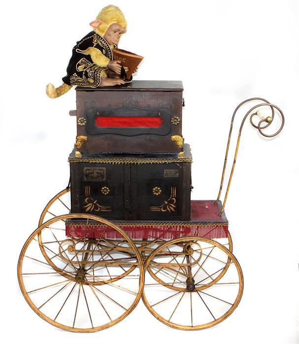 Leierkasten um 1890 - Objektdetail | Bossard